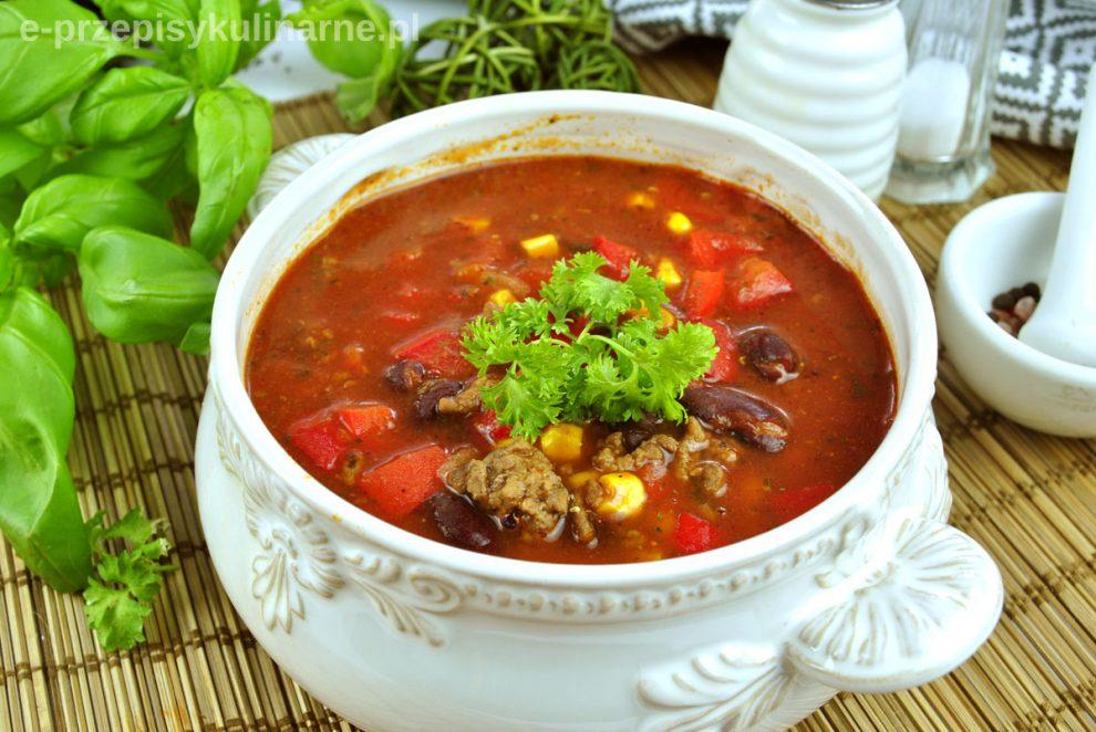 Chili con carne – prosty i szybki przepis