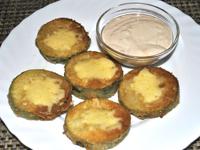 Cukinia w panierce z serem żółtym
