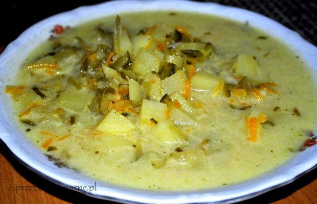 Zupa Ogorkowa Bez Miesa