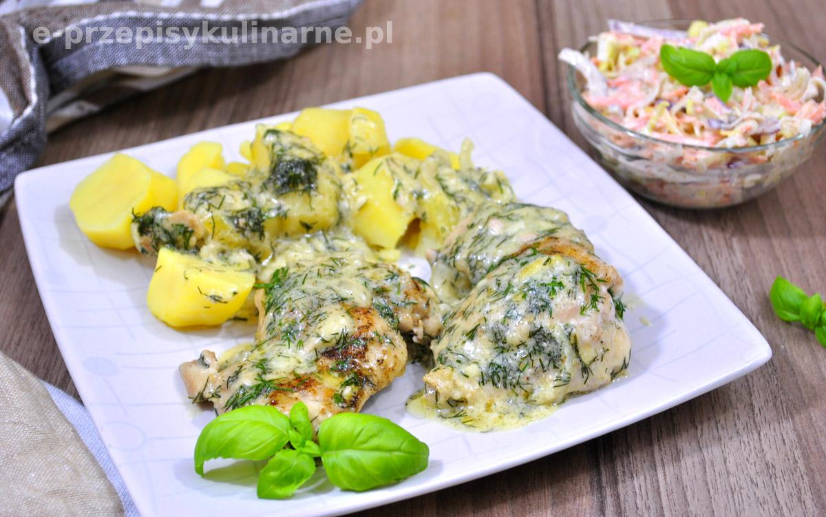 Kurczak W Sosie Koperkowym Przepis Na Tani I Szybki Obiad
