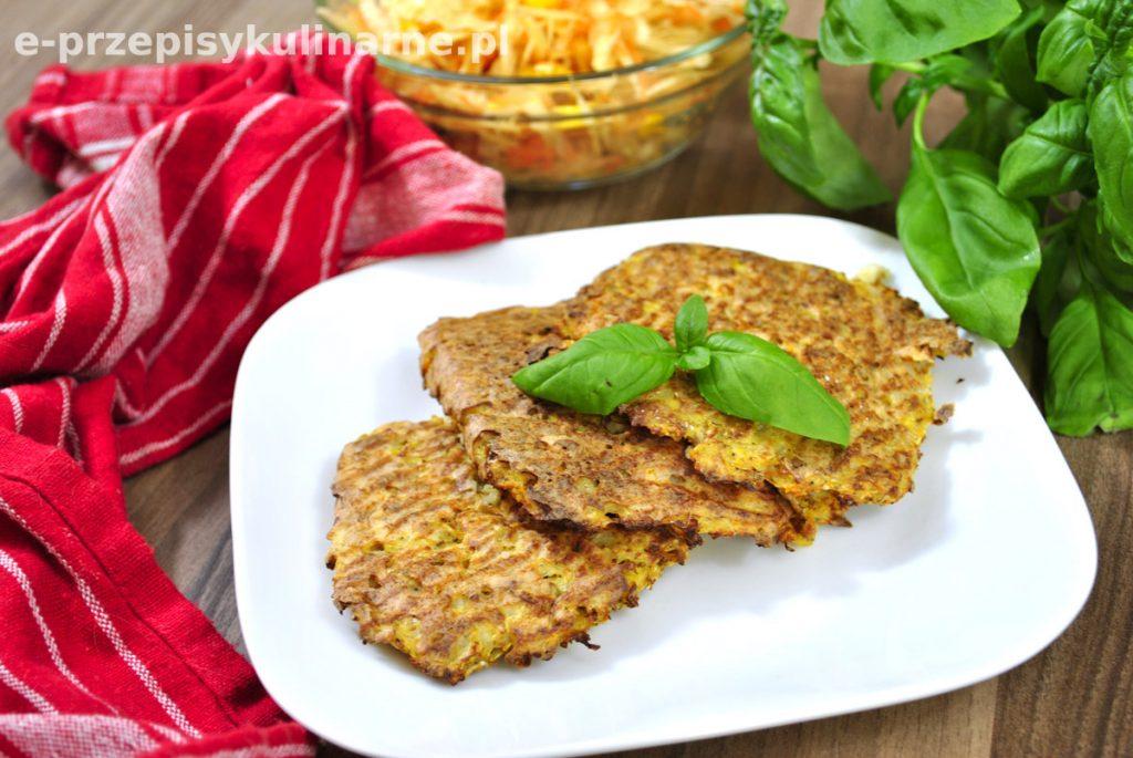 Dietetyczne placuszki z kalafiora