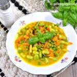 Wegetariańskie curry z bobem