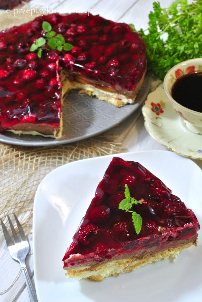 Ciasto Lodowiec bez pieczenia