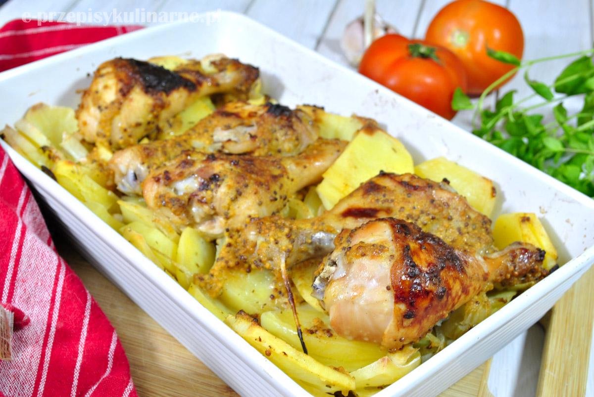 Kurczak w musztardzie