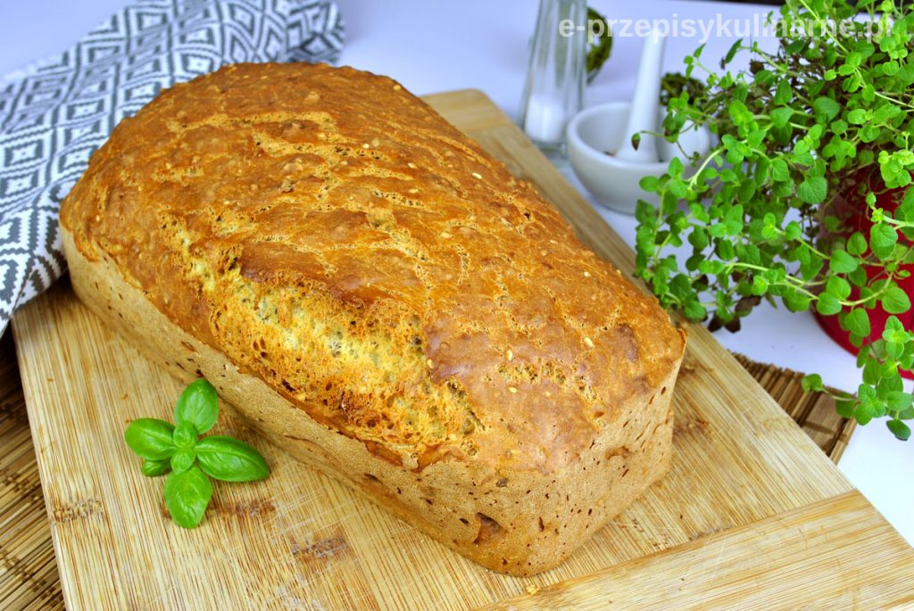 Ekspresowy chleb na mleku (bez drożdży i zakwasu)