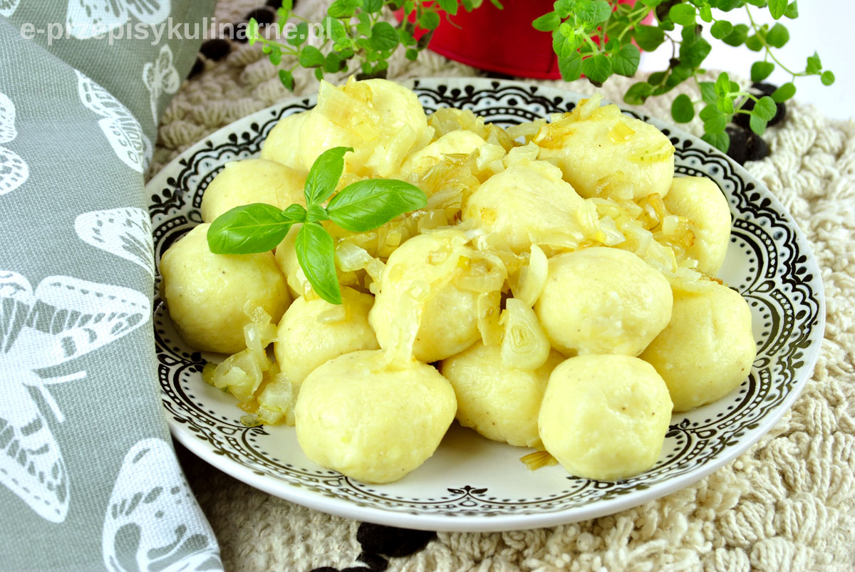 Kluski ruskie – pyszny domowy obiad