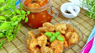 Pieczarki w zalewie pomidorowo-octowej