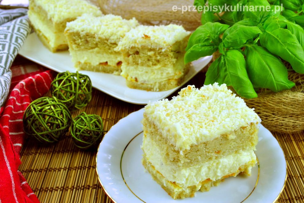 Ciasto Kokosowa Blondynka