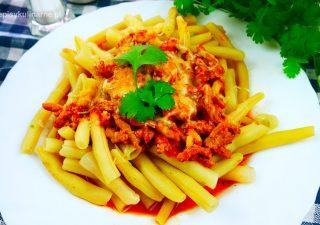 Fasolka szparagowa z mięsem mielonym – pyszna fasolka po bolońsku