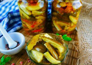 Ogórki na ostro – ogórki do słoików z chili