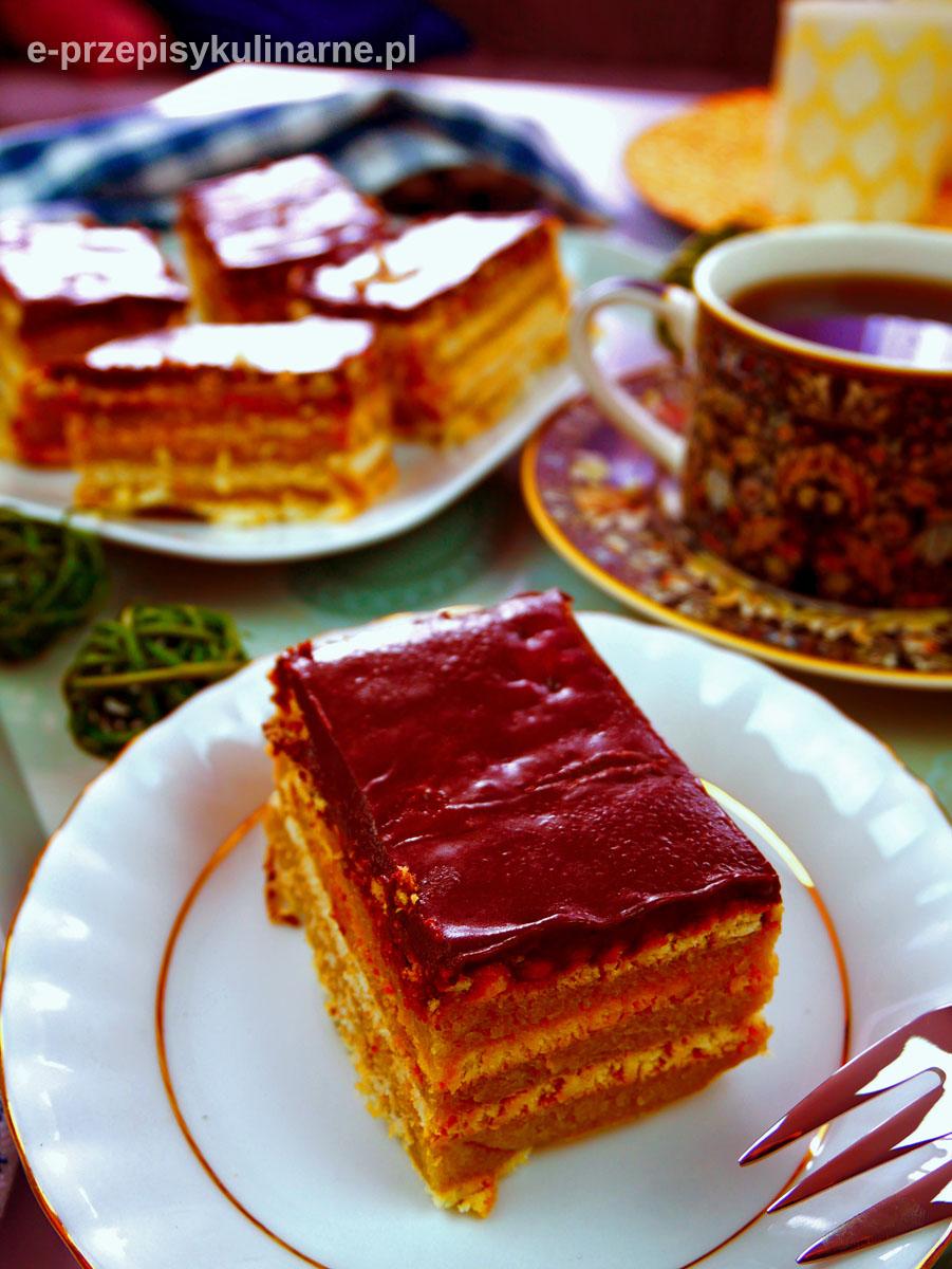 Ciasto Stefanka Capuccino bez pieczenia