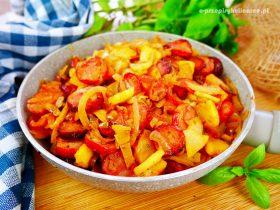 Chłopski bigos z cebuli – szybkie i pyszne danie na obiad