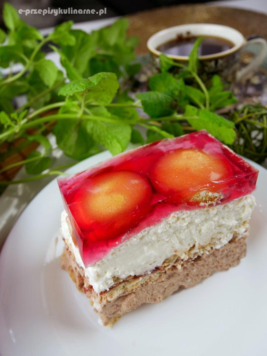 Słodka Karolinka – ciasto bez pieczenia
