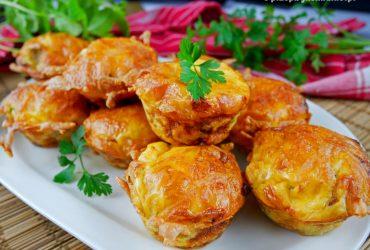 Muffiny jajeczne – przepis na śniadanie