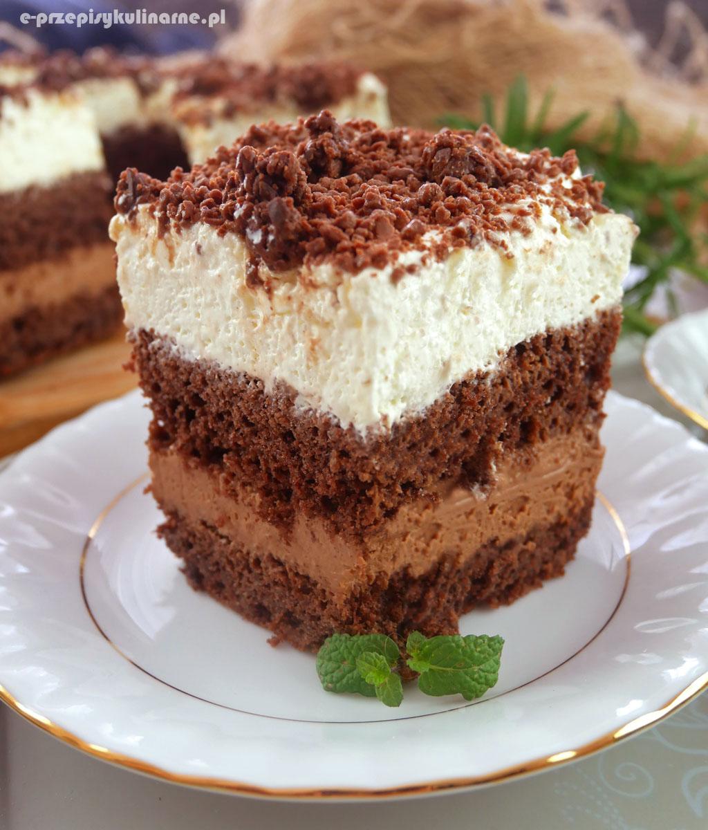 Ciasto Przysmak Sułtana z masą truflową - pyszne i efektowne