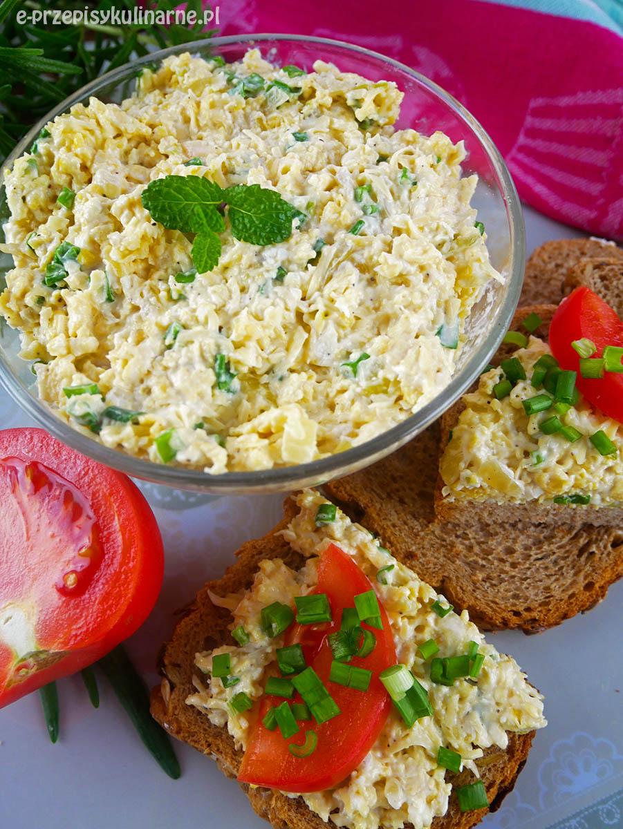 Pasta do chleba z jajecznicy – najlepsza pasta jajeczna