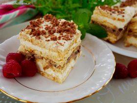Ciasto Fintifluszka - najprostsze ciasto bez pieczenia z 4 składników