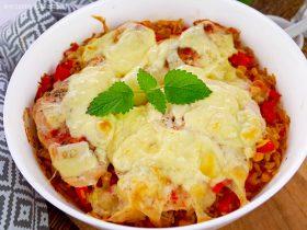 Kurczak na ryżu z warzywami – szybki przepis na obiad