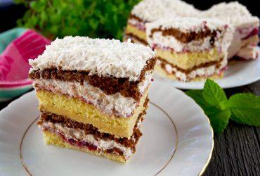 Ciasto Boska Zachcianka – pyszny i efektowny przekładaniec